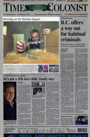 Times Colonist: March 1, 2008