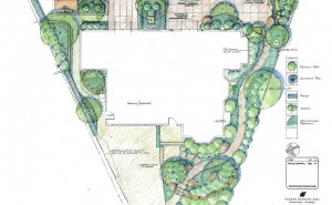 Michelle Place Garden - Plan