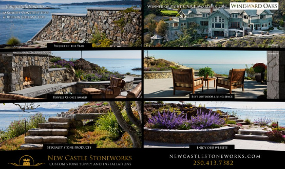 Homes & Living Magazine – New Castle Ad